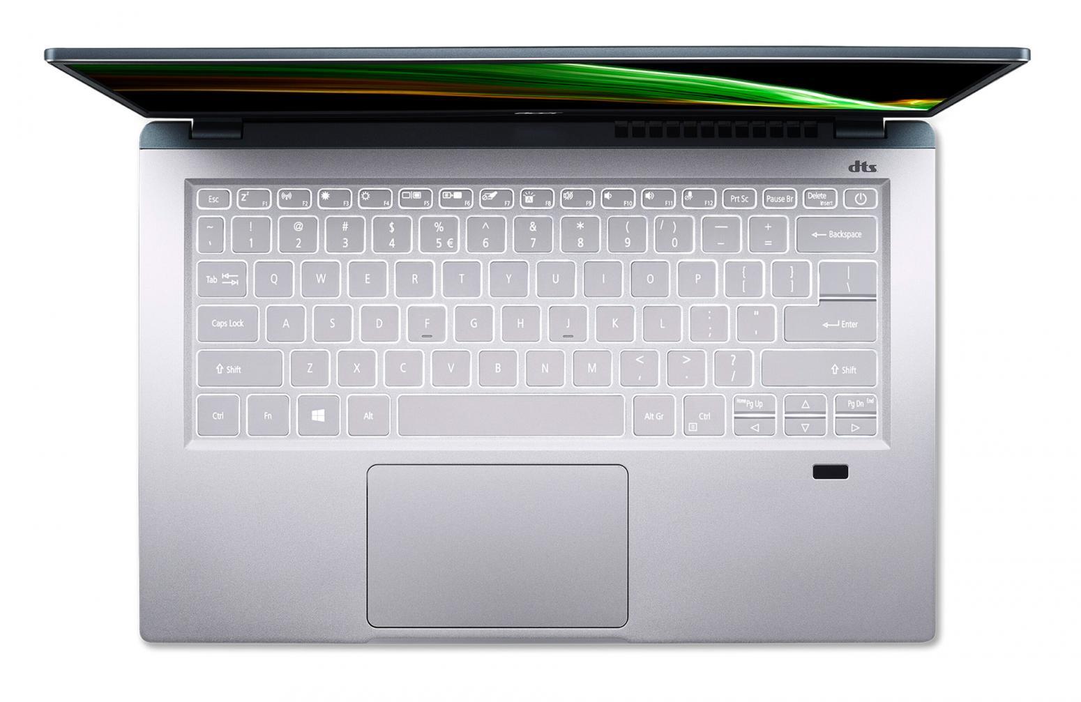 Ordinateur portable Acer Swift X SFX14-41G-R8U0 Argent/Bleu - GTX 1650, Pro - photo 2