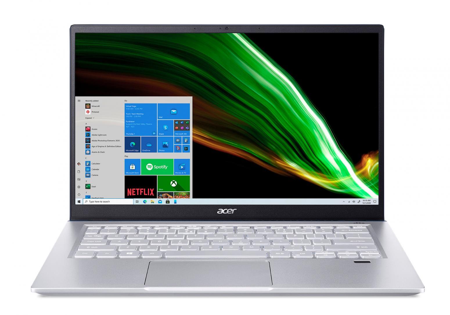 Ordinateur portable Acer Swift X SFX14-41G-R8U0 Argent/Bleu - GTX 1650, Pro - photo 5