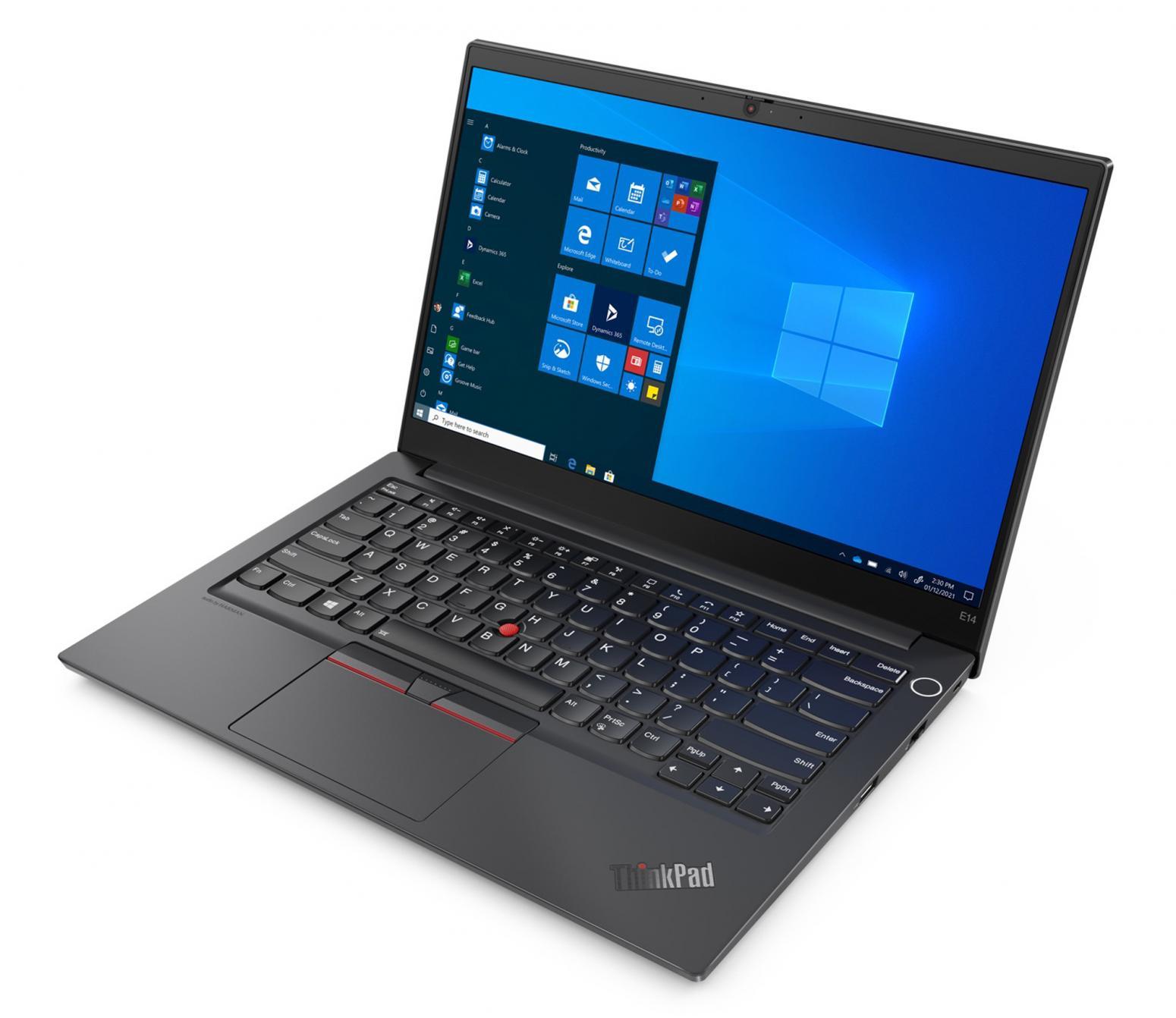 Image du PC portable Lenovo ThinkPad E14 AMD Gen 3 (20Y7003RFR) Argent - Ryzen 5, Pro