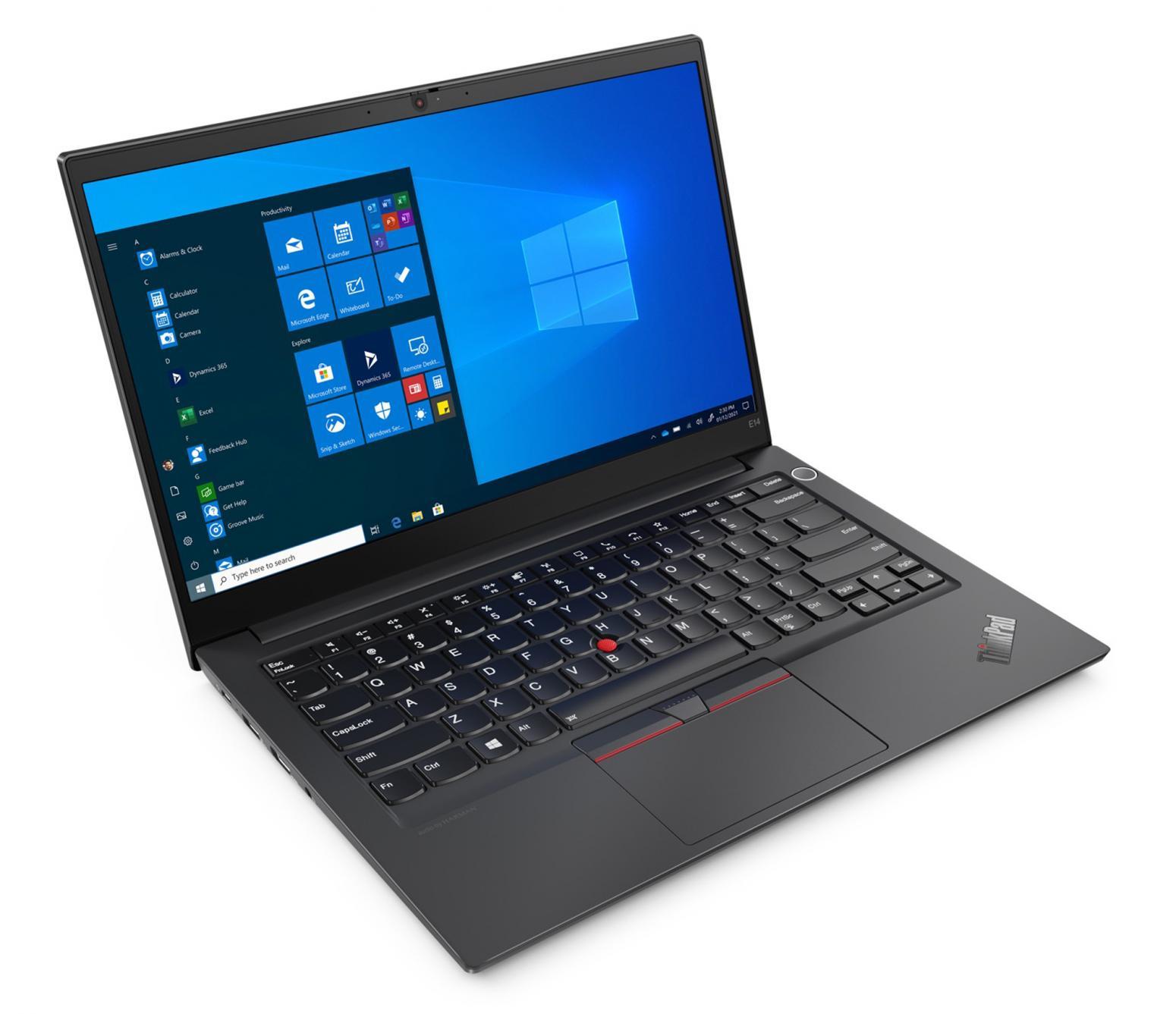 Ordinateur portable Lenovo ThinkPad E14 AMD Gen 3 (20Y7003RFR) Argent - Ryzen 5, Pro - photo 8