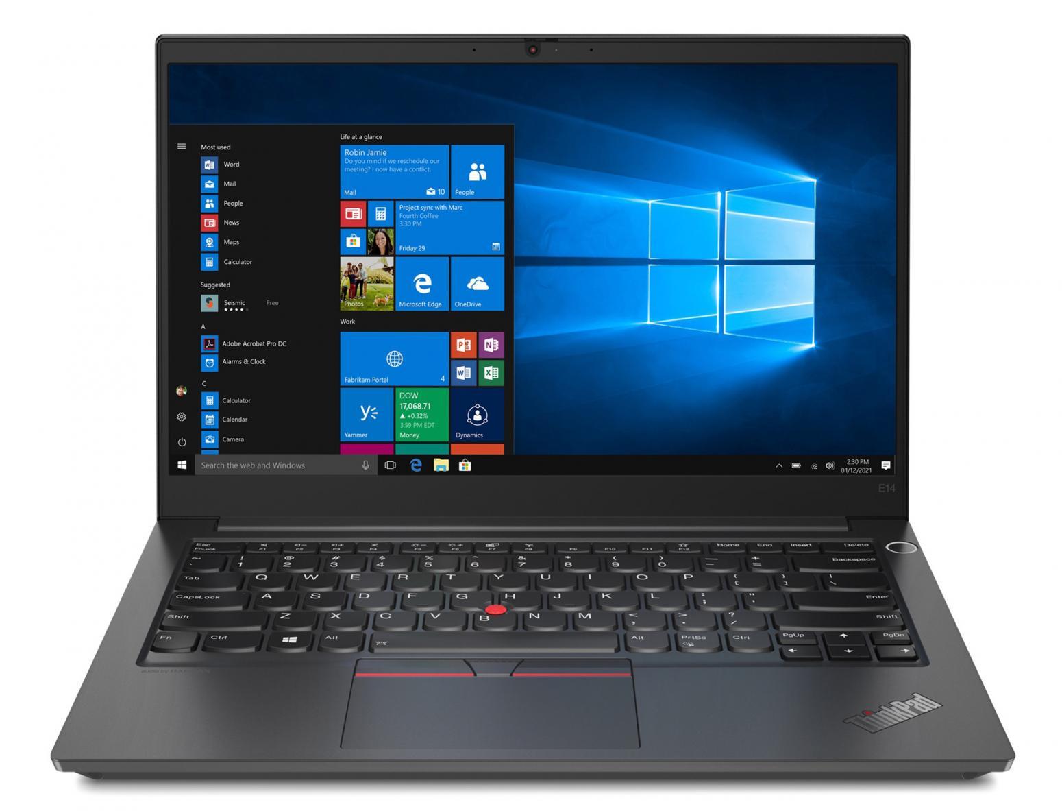 Ordinateur portable Lenovo ThinkPad E14 AMD Gen 3 (20Y7003RFR) Argent - Ryzen 5, Pro - photo 9