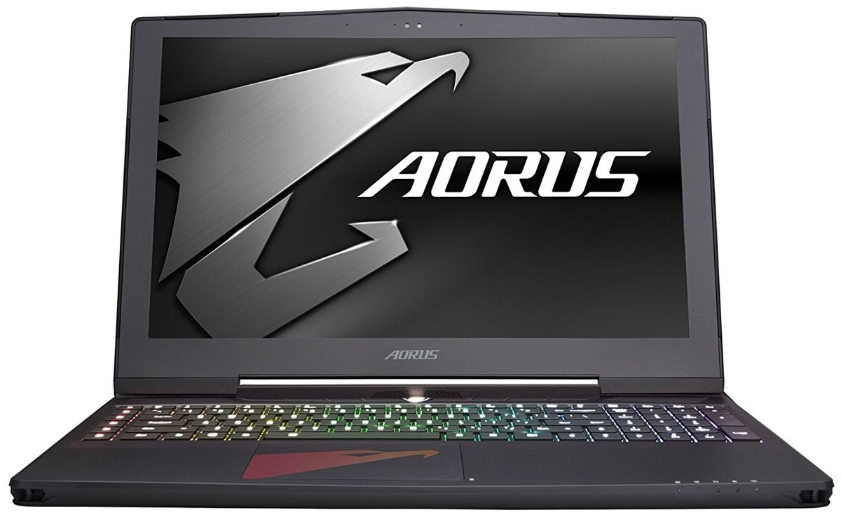 Aorus X5 v7, PC portable 15 pouces IPS G-Sync 4K GTX 1070 Quad i7 HK Kaby