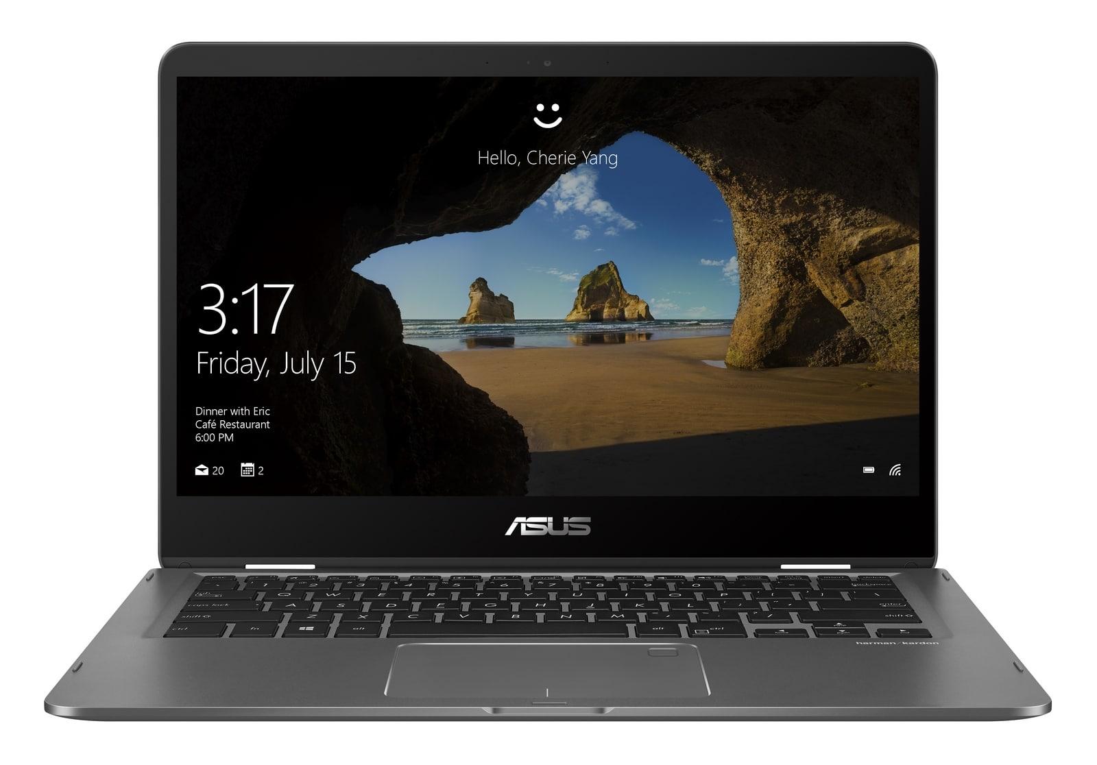 "<span class=""tagtitre"">IFA 2017 - </span>Asus Zenbook Flip 14 et Flip 15 convertibles Tablette Kaby Refresh"