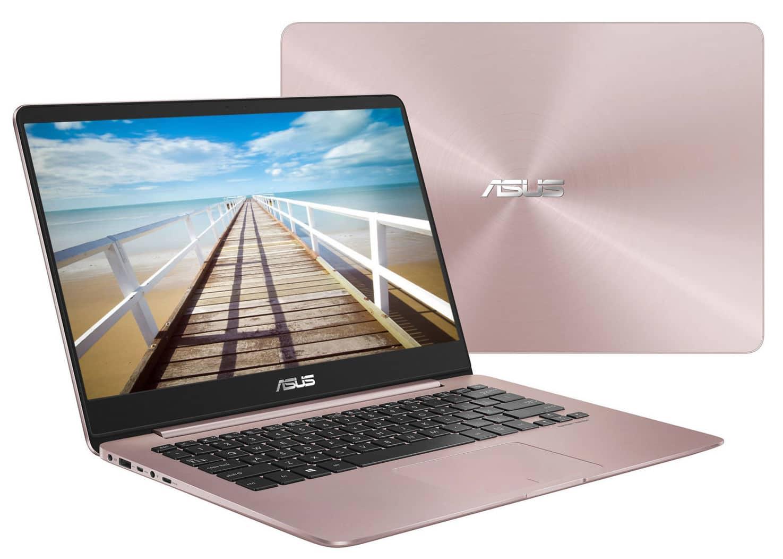 Asus Zenbook UX430UA (58256), ultrabook 14 pouces Rose IPS i5 SSD promo 799€