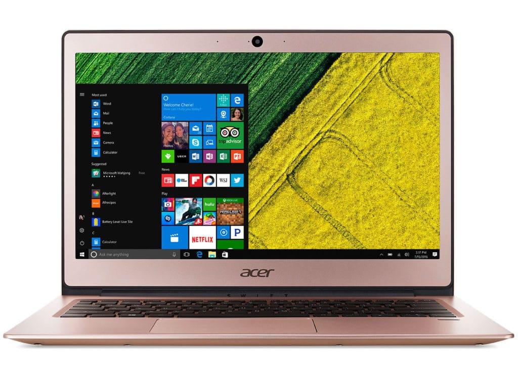 Solde Ultraportable pas cher Acer Swift SF113-31-P1CP à 299€