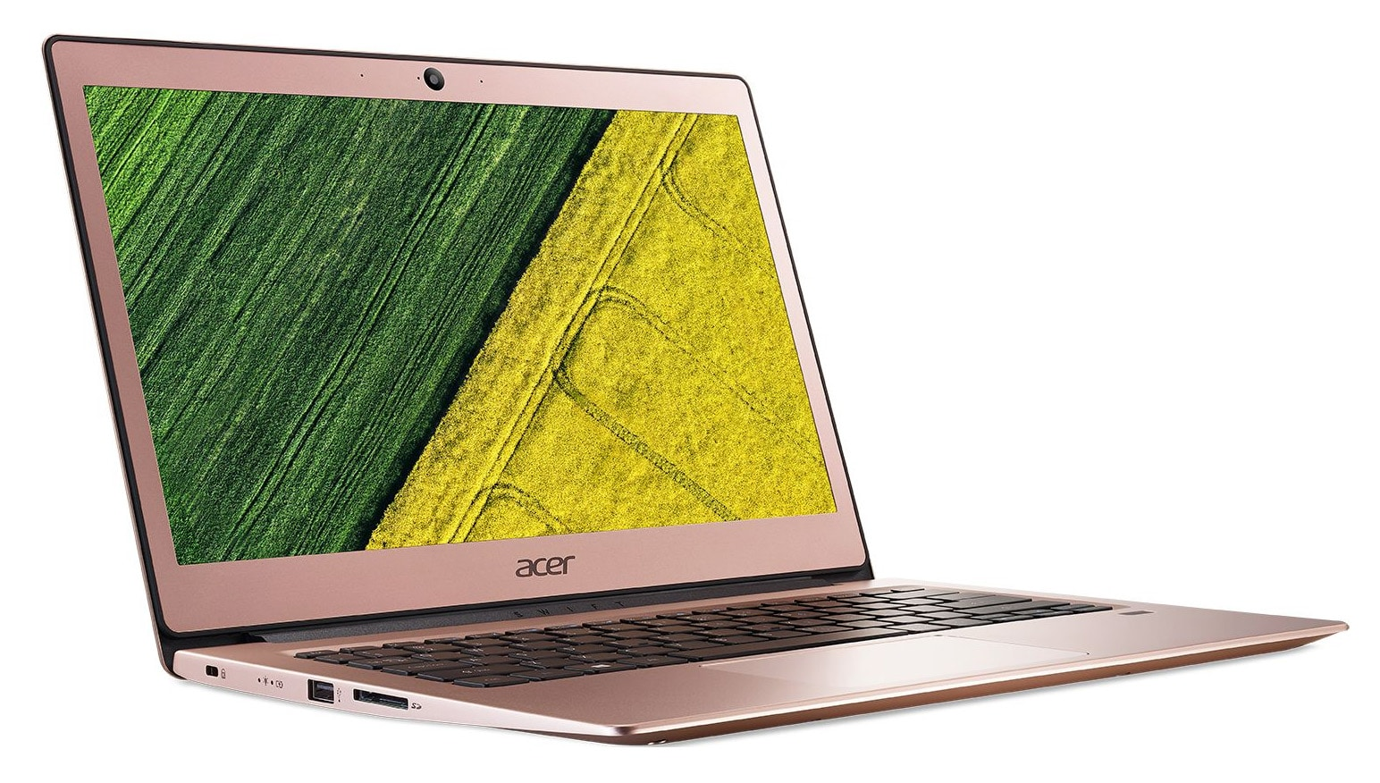 Acer Swift SF113-31-P1CP, ultrabook 13 pouces Rose Full IPS SSD (284€)
