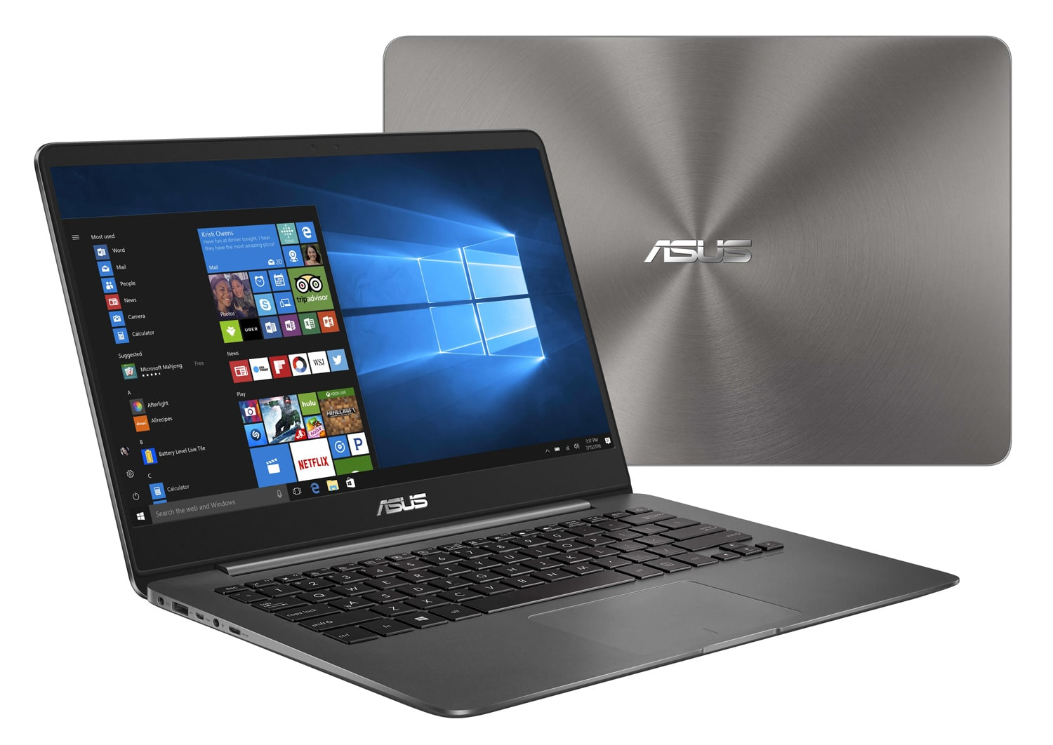 Asus Zenbook UX430UA-GV038T à 699€, Ultrabook 14 pouces IPS Full SSD Kaby