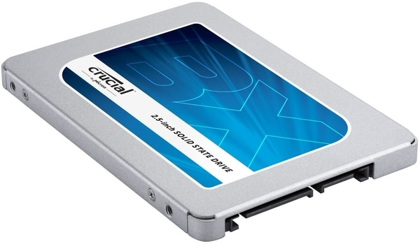 Crucial BX300, nouveau SSD 2.5 pouces jusqu'à 480 Go, disponible dès 61 euros