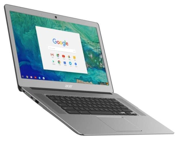 """<span class=""""tagtitre"""">IFA 2017 - </span>Acer Chromebook 15, le 15.6 pouces IPS plus fin et léger, fanless"""