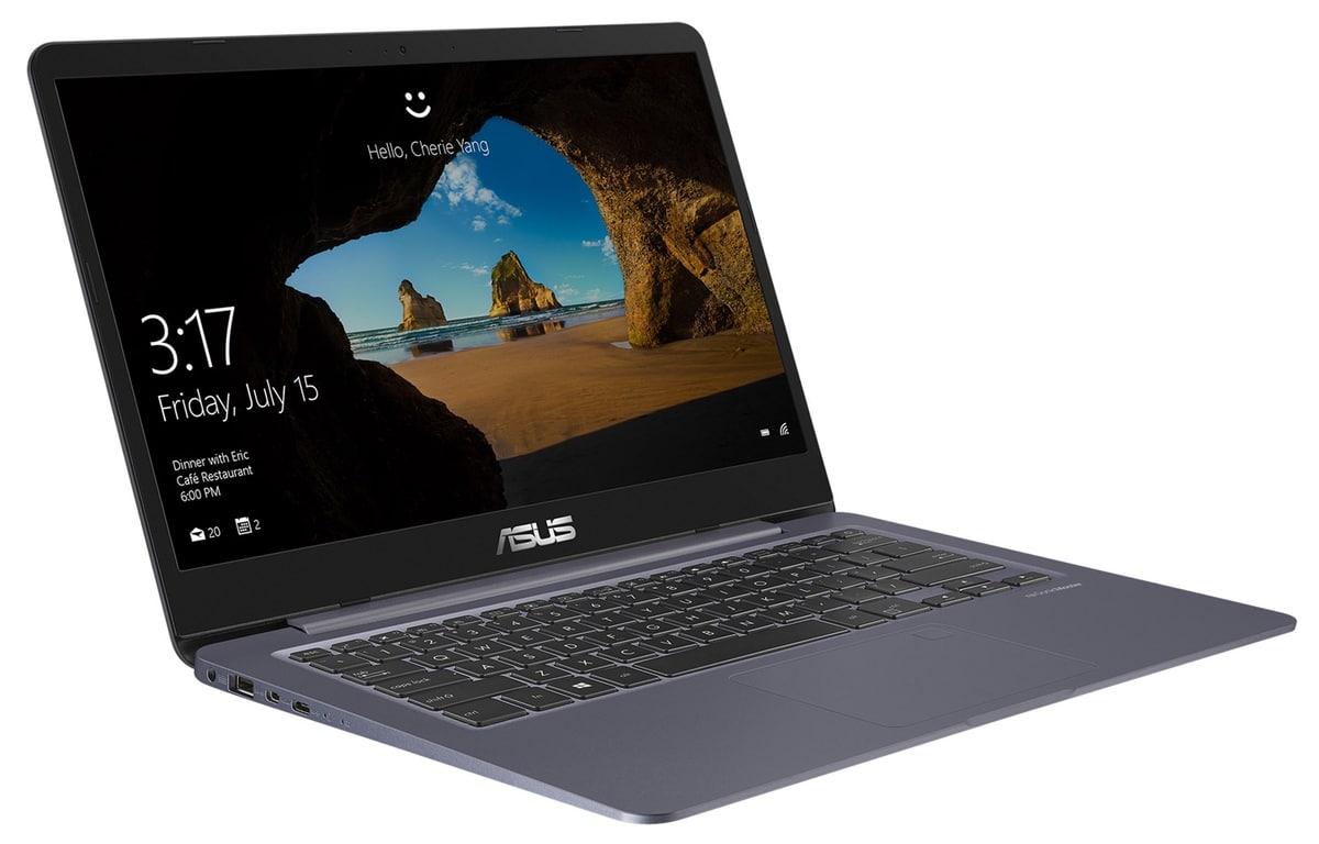 Asus VivoBook S406UA-BM001T à 649€, Ultrabook 14 pouces Full HD mat SSD Kaby