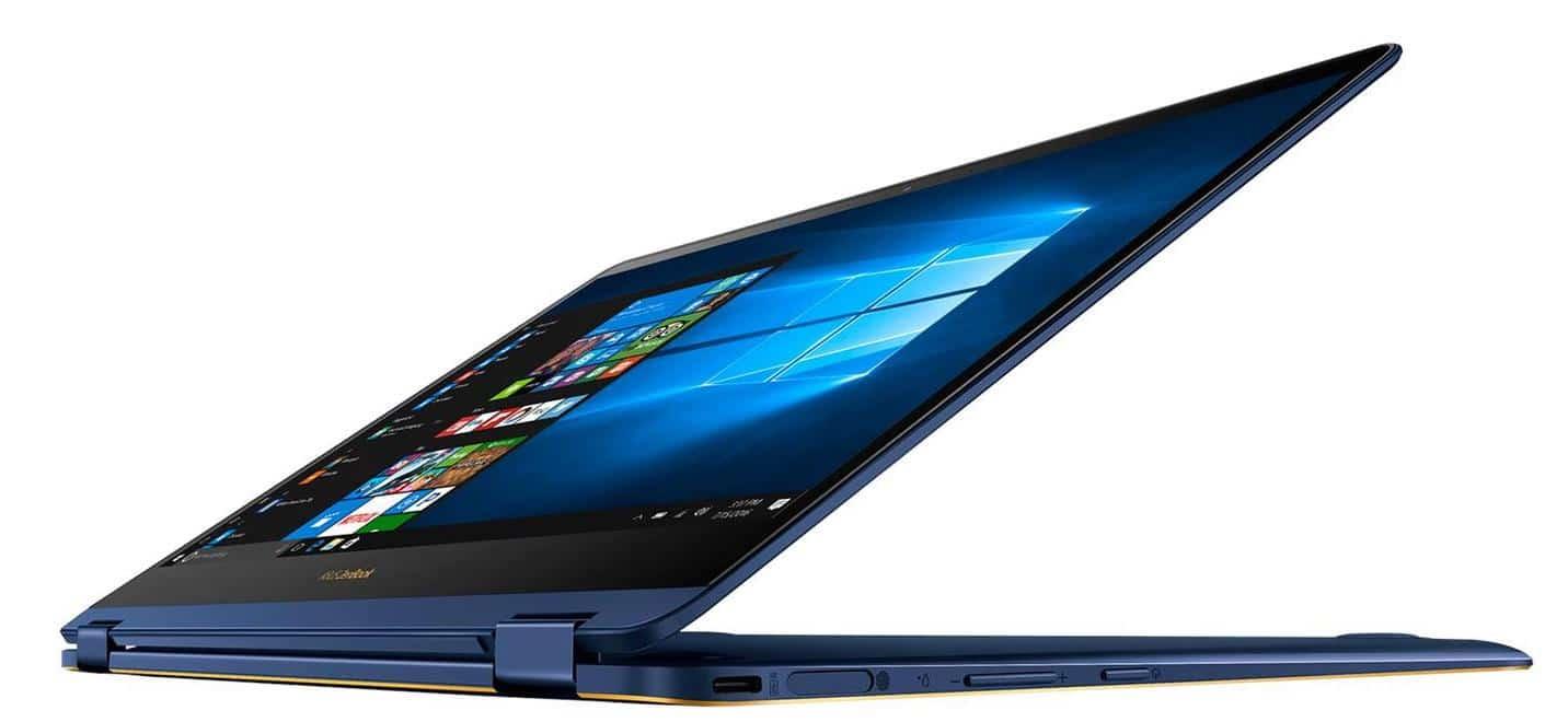 "Asus ZenBook Flip S UX370UA 58256-B, ultrabook 13"" Tab léger (909€)"