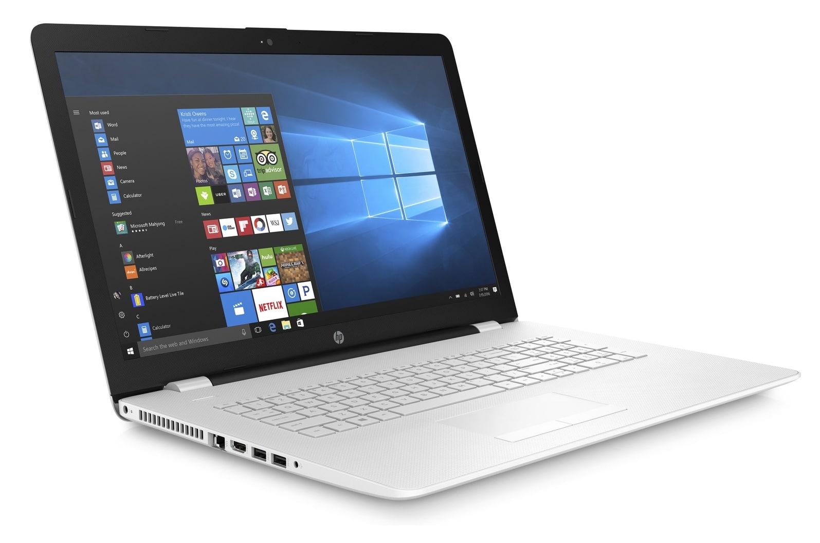 HP 17-ak010nf, PC portable 17 pouces SSD+HDD A9 Stoney R530 promo 483€