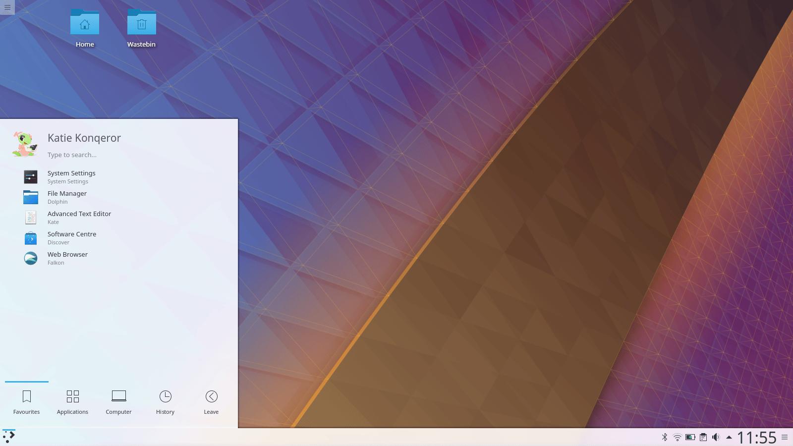 """<span class=""""tagtitre"""">KDE - </span>sortie de l'environnement de bureau Plasma 5.11, plus de sécurité"""