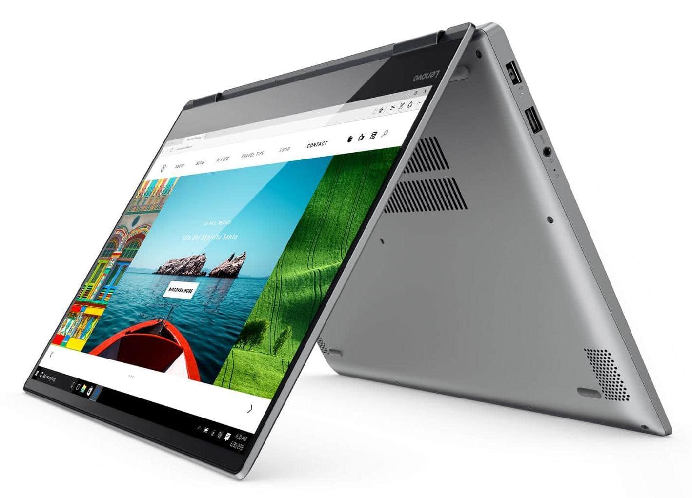 "Lenovo Yoga 720-15IKB, ultrabook 15"" tablette Quad i7 GTX 1050 SSD512 à 1599€"
