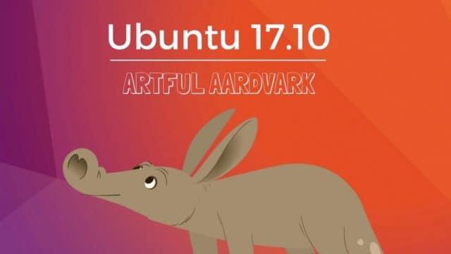 """<span class=""""tagtitre"""">Linux - </span>Ubuntu 17.10 Artful Aardvark disponible au téléchargement"""