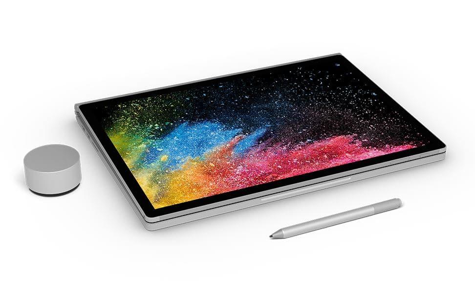 Microsoft Surface Book 2, Ultrabook avec Kaby Lake Refresh et GTX 1060