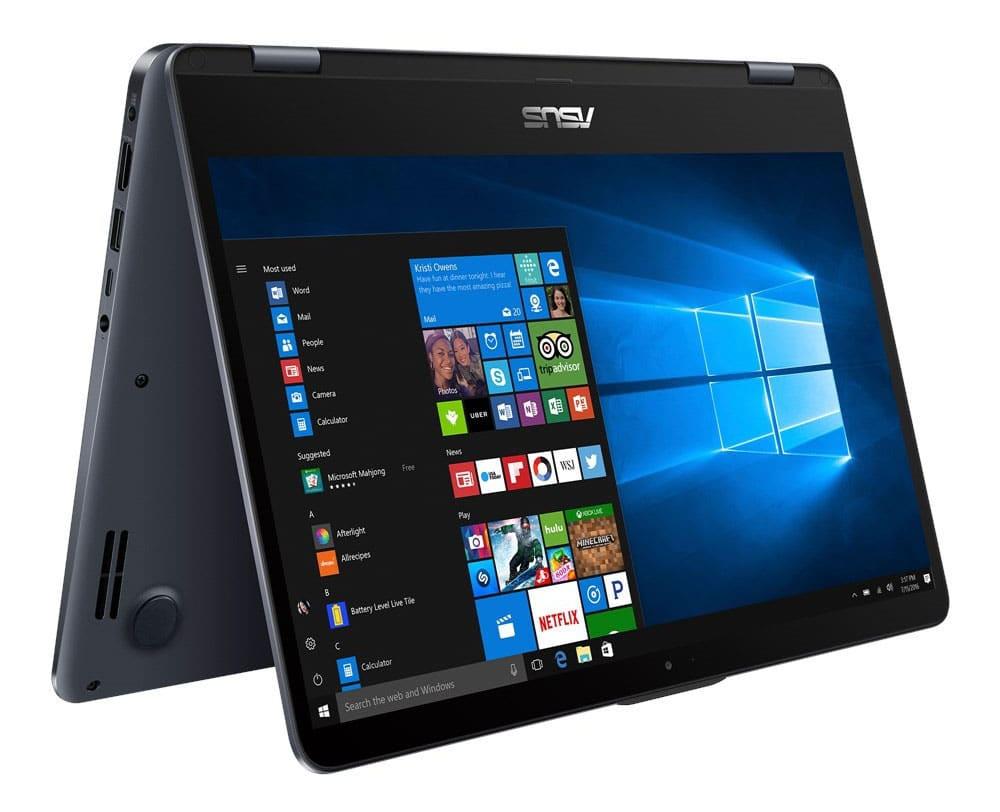 """Asus VivoBook Flip TP410UA-EC380T, ultrabook 14"""" Tab IPS Kaby-R (719€)"""