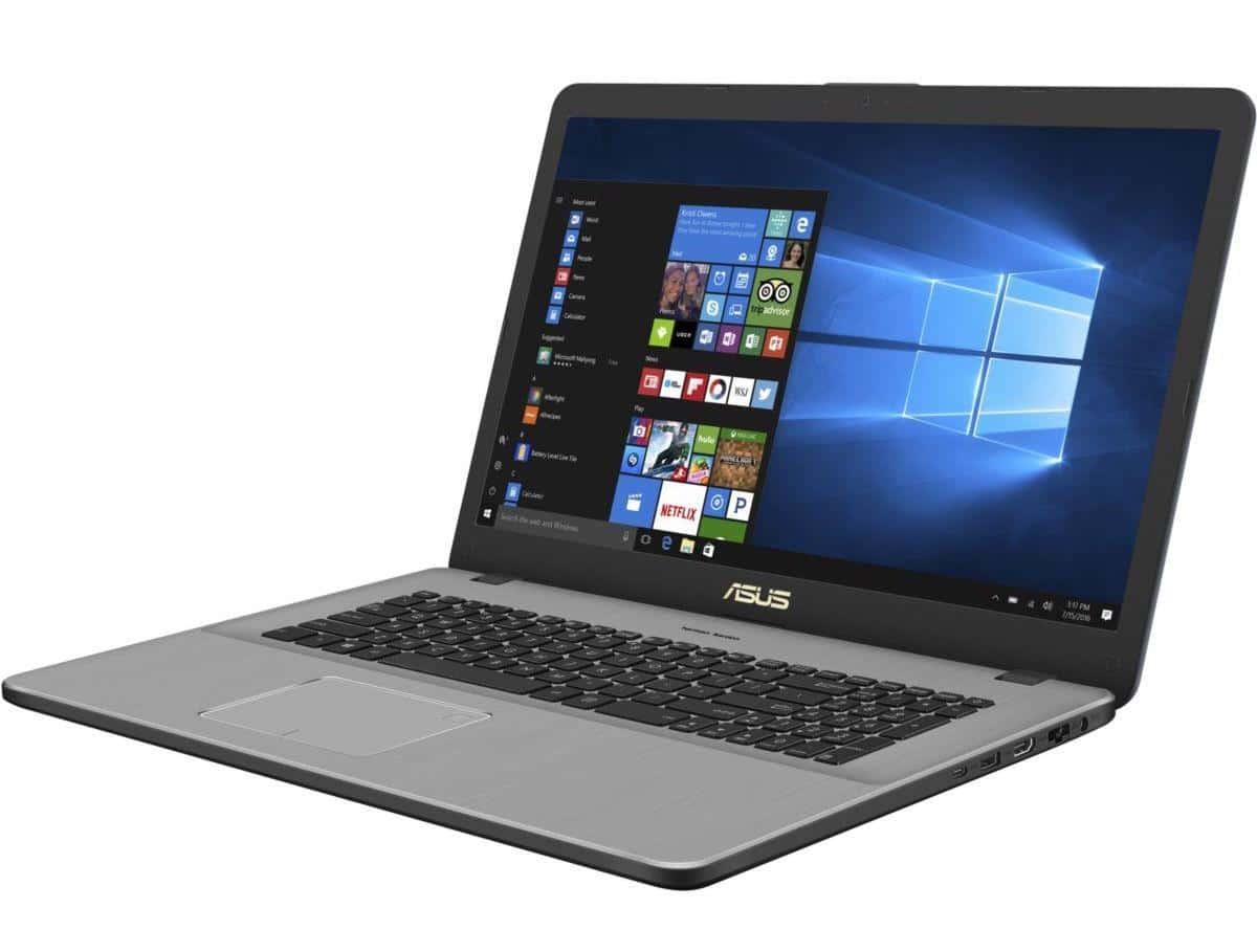 """Asus VivoBook N705UD-GC104T, 17"""" léger et fin GTX 1050 (929€)"""