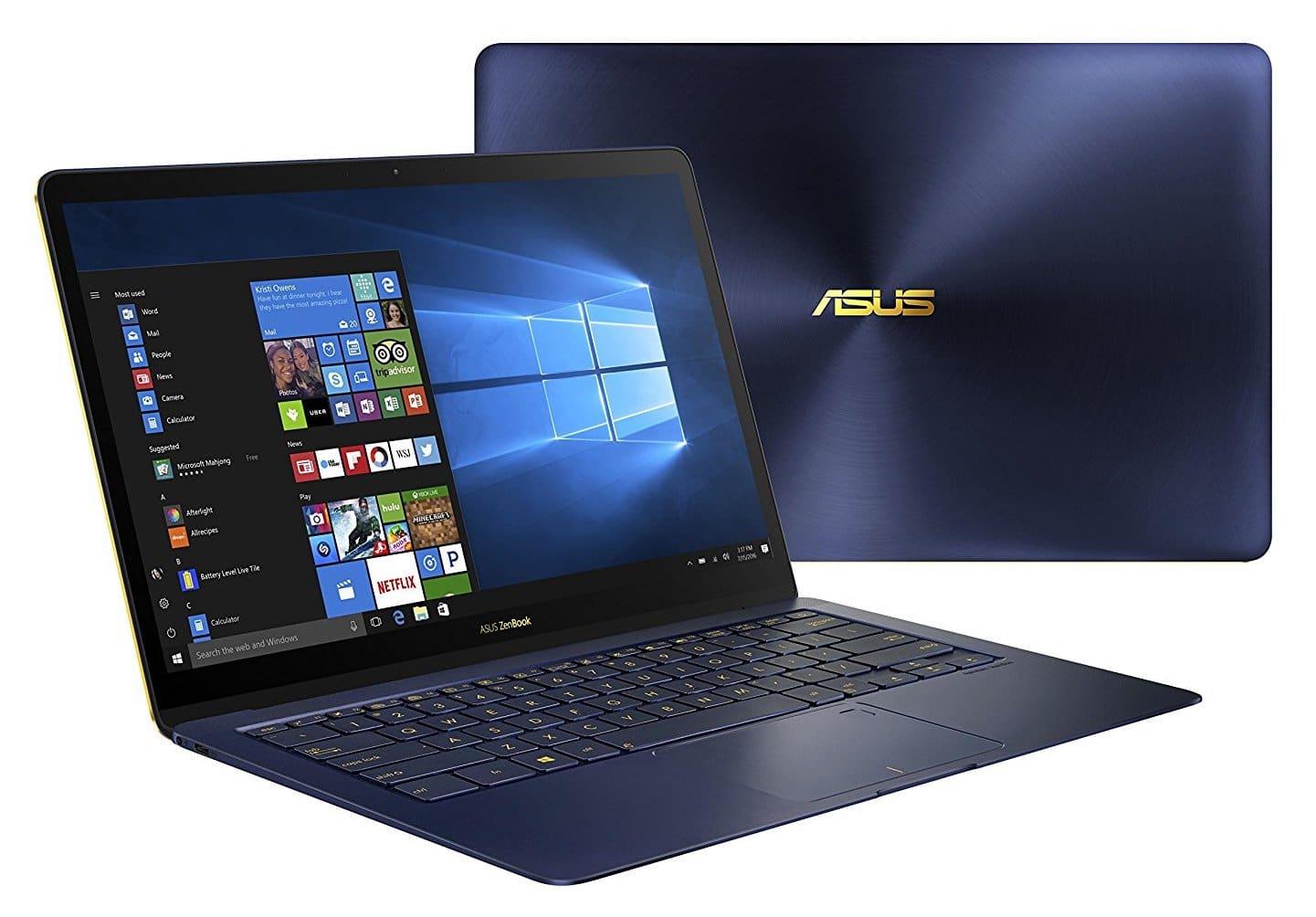 "Asus ZenBook 3 UX490-7r16512-B, ultrabook 14"" IPS Kaby Refresh SSD512 1599€"