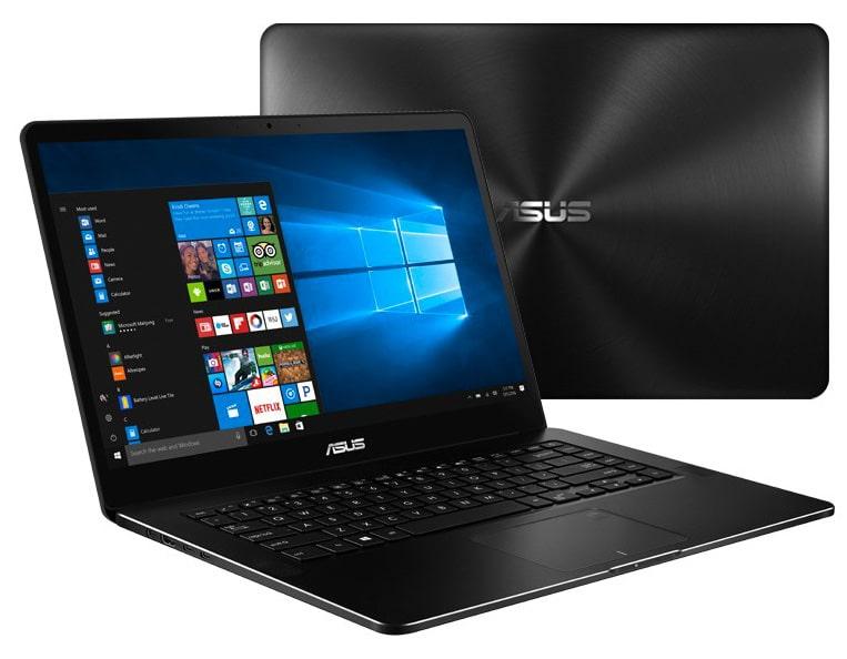 """Asus Zenbook Pro UX550VD-BO098R, ultrabook 15"""" tactile fin GTX 1050 i7 à 1699€"""