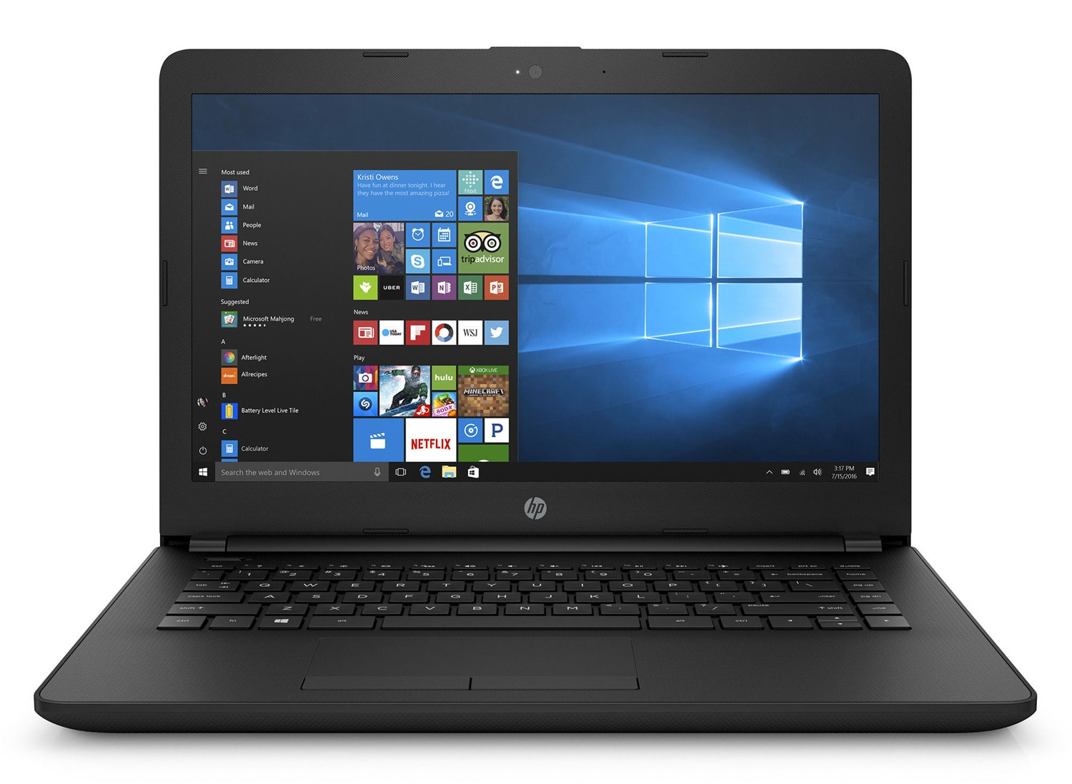 HP 14-bs010nf, PC portable 14 pouces IPS Full HD SSD noir (419€)