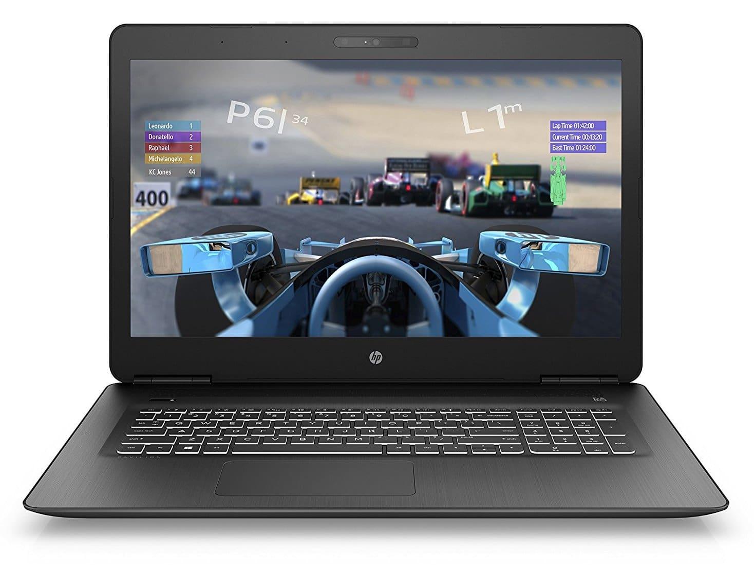 HP Pavilion 17-ab301nf, 17 pouces GTX 1050 SSD (649€)