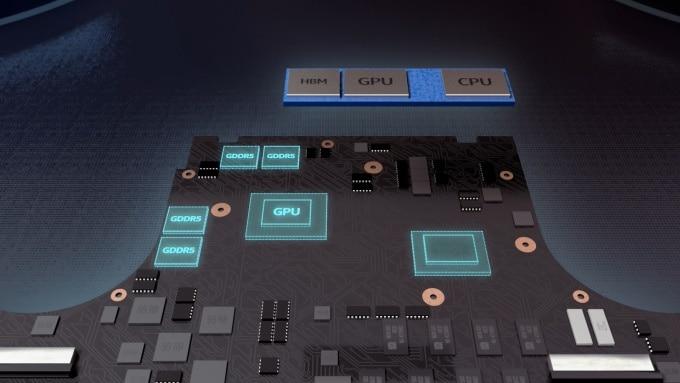 Intel officialise 1 nouveau processeur 8ème génération avec GPU AMD embarqué