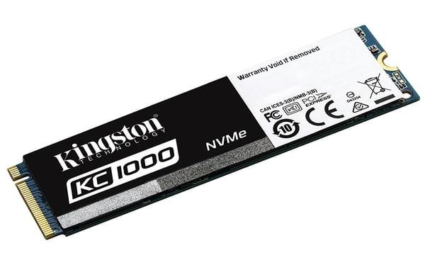 """<span class=""""tagtitre"""">Bon Plan - </span>SSD M.2 NVMe Kingston KC1000 de 480 Go pour 229 euros"""