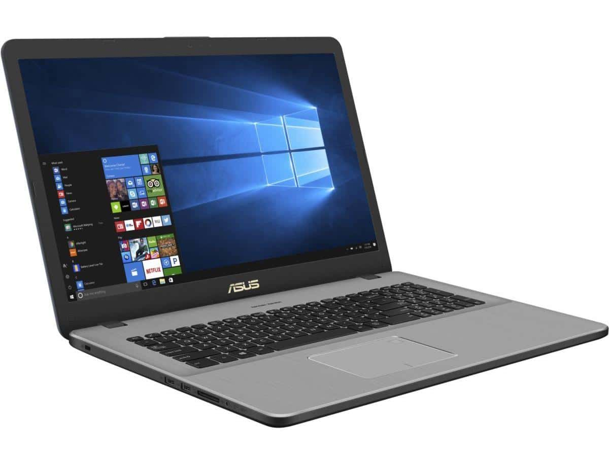 Asus N705UN-BX066T, ultrabook 17 pouces i5 Refresh MX150 (636€)