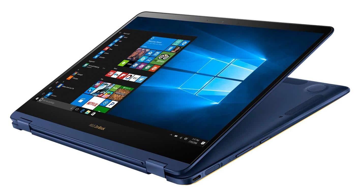 Asus ZenBook Flip S UX370-7r8256-B, 13 pouces Tablette i7 SSD 256 (1079€)
