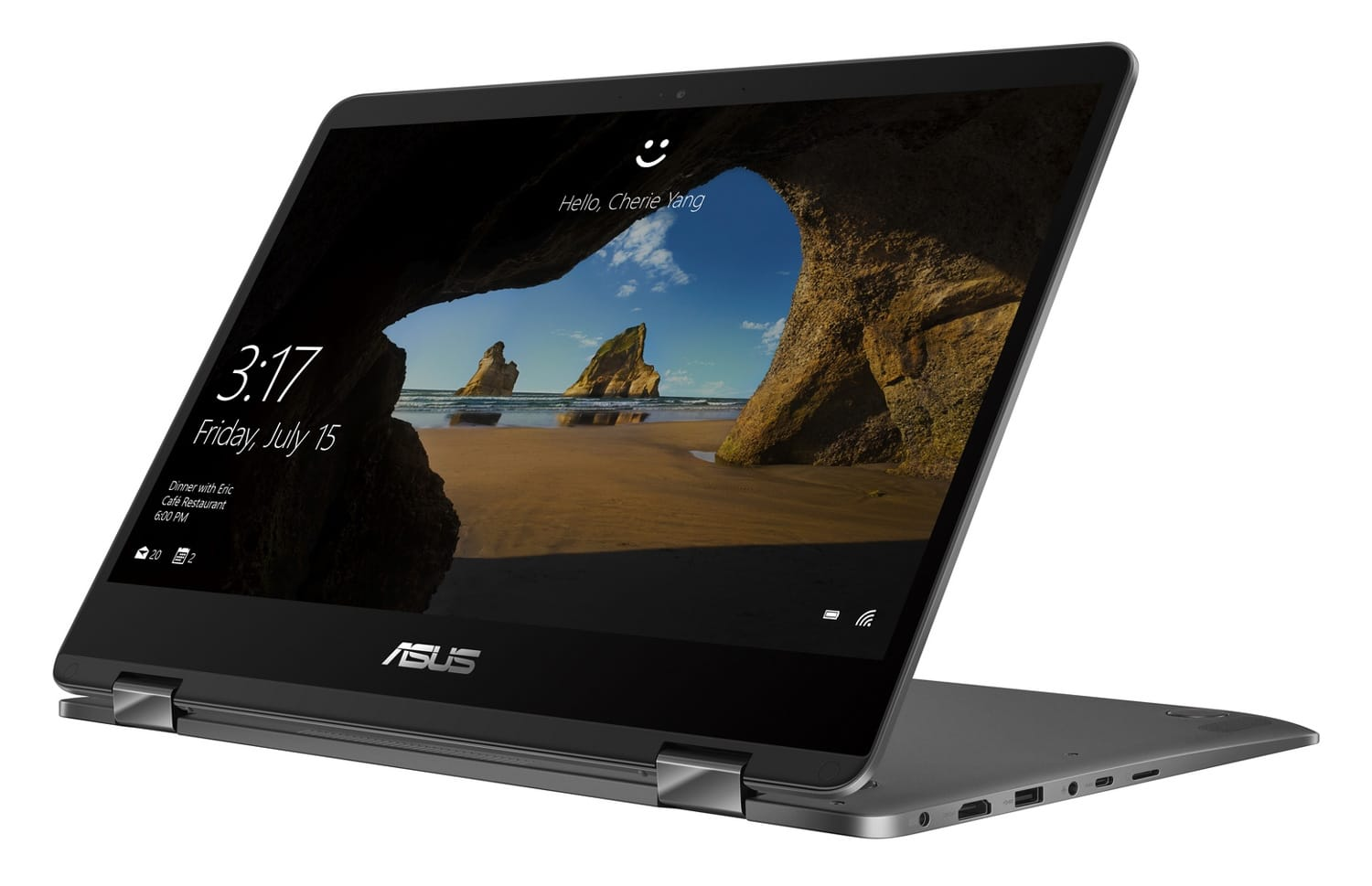 """Asus UX461UA-E1012R, Ultrabook Pro 14""""/Tablette Kaby Refresh SSD 1099€"""