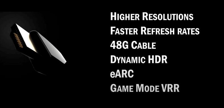 """<span class=""""tagtitre"""">HDMI 2.1 - </span>la norme finalisée avec support des vidéos 10K !"""