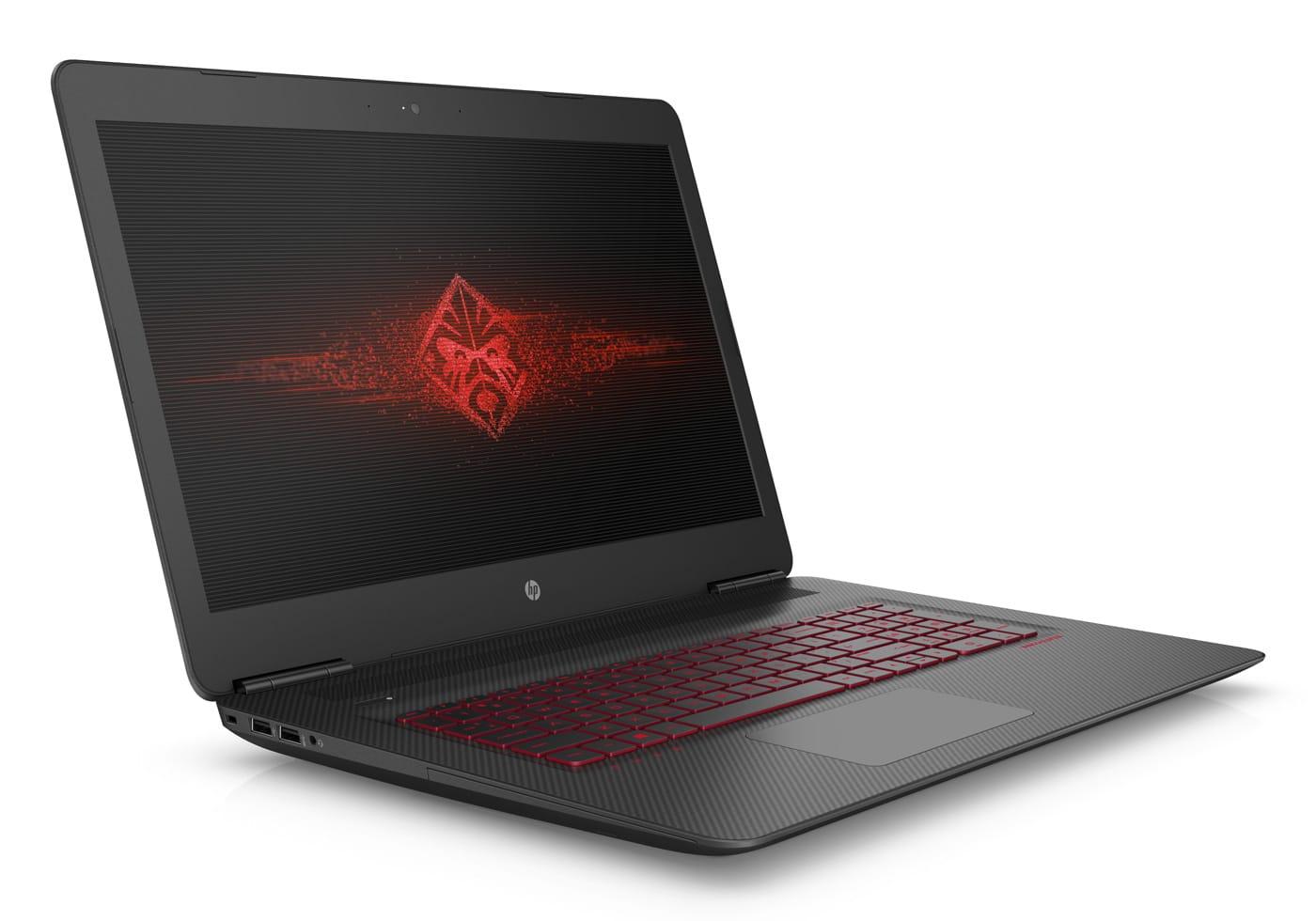 HP Omen 17-w214nf, PC portable 17 pouces IPS GTX 1050 SSD Quad (729€)