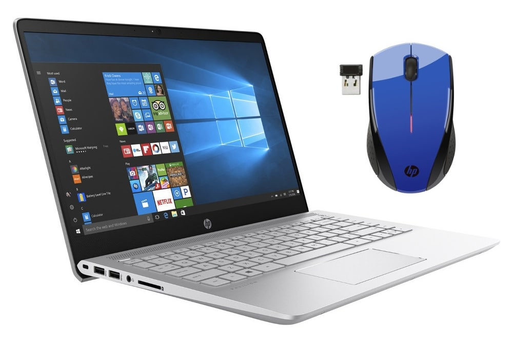 HP Pavilion 14-bf012nf + souris à 599€, Ultrabook 14 pouces Full IPS SSD i5