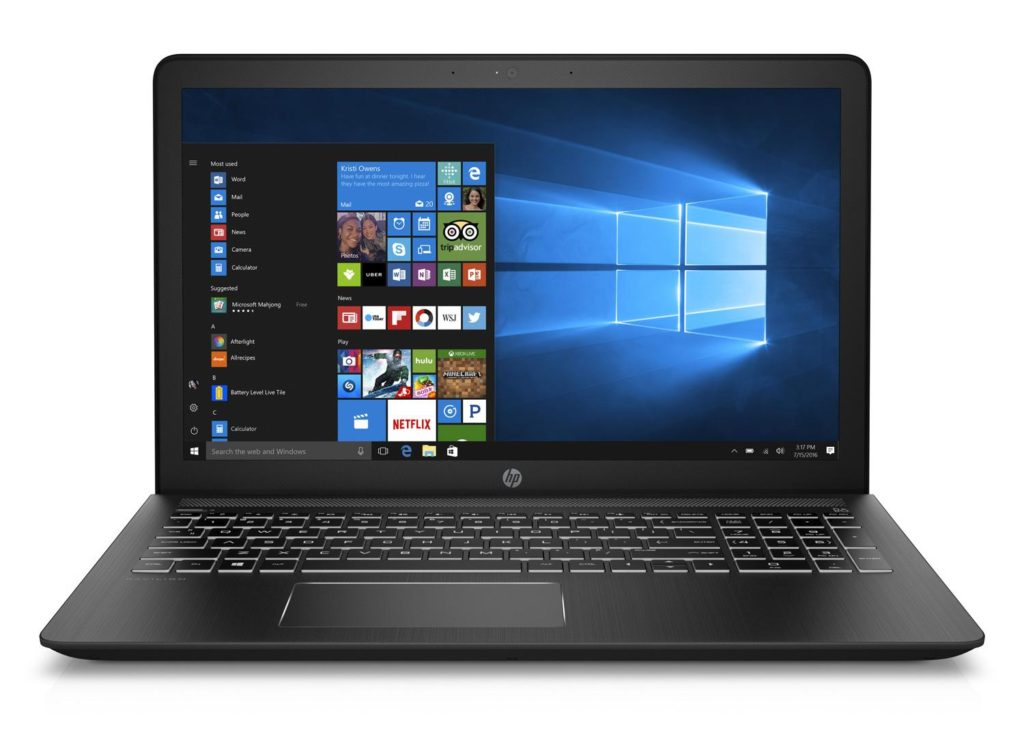 Solde Portable gamer pas cher HP Pavilion Power 15-cb016nf à 499€