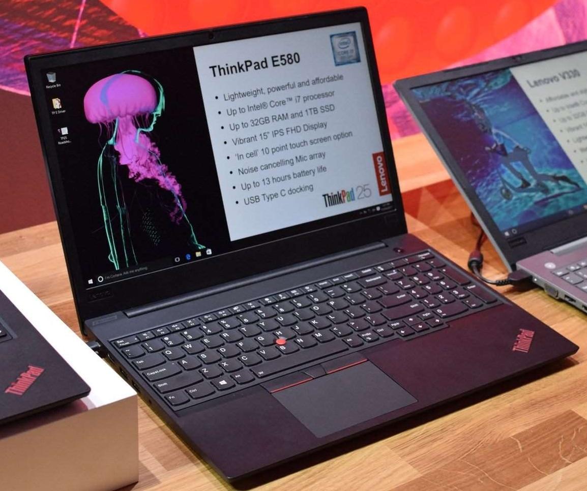 Lenovo ThinkPad E480 et E580, nouveaux PC portables prévus