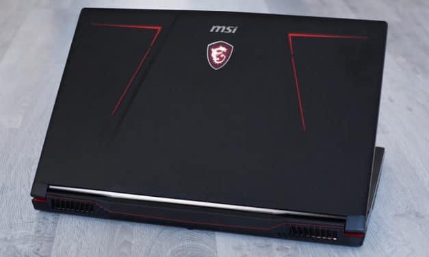 """<span class=""""tagtitre"""">Test MSI GE73VR 7RF Raider - </span>PC portable gamer 17 pouces avec écran 120 Hz"""