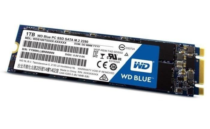 """<span class=""""tagtitre"""">Bon Plan - </span>SSD M.2 Western Digital Blue de 1 To en promo à 255 euros"""