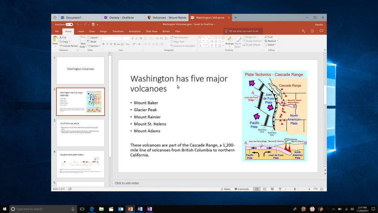 "<span class=""tagtitre"">Windows 10 - </span>Microsoft dévoile un design inaugurant les onglets"