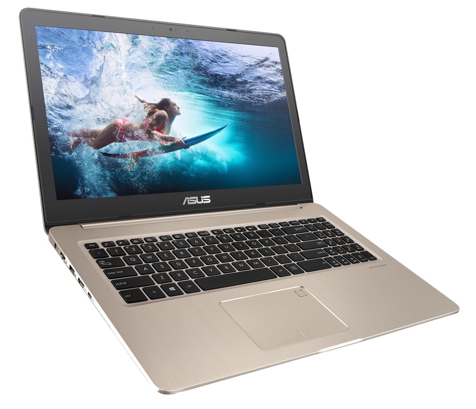 "Asus VivoBook N580VD-FJ573T, ultrabook 15"" 4K tactile 16 Go GTX 1050 i7 à 1399€"
