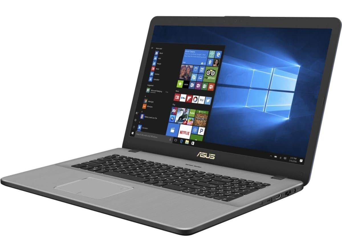 """Asus VivoBook N705UN-BX094T, Ultrabook 17"""" Kaby Refresh SSD 940M 999€"""