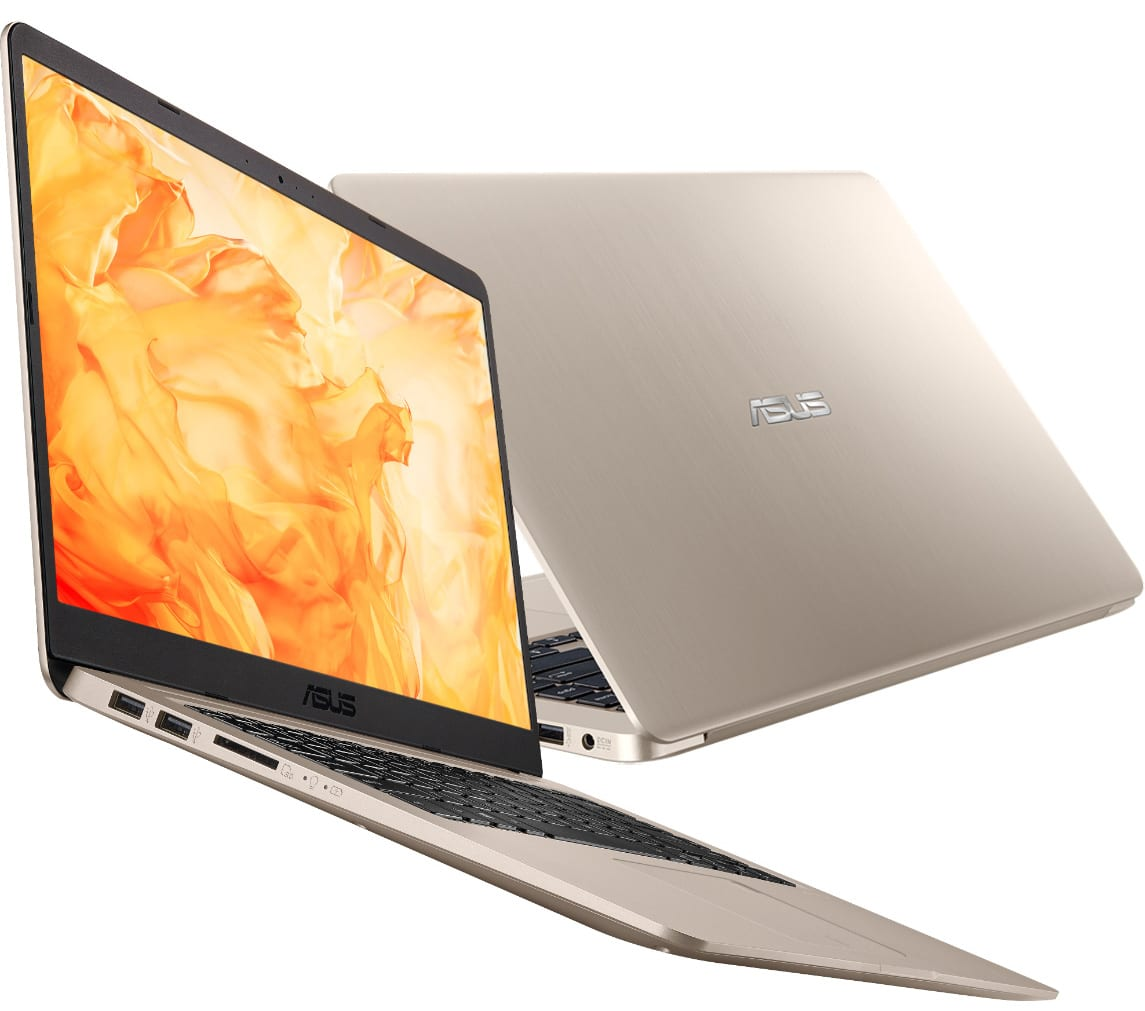 Asus VivoBook S510UA-BQ465T, ultrabook 15 pouces Full IPS SSD+HDD Kaby 699€
