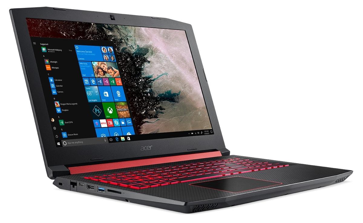 """<span class=""""tagtitre"""">CES 2018 - </span>Acer Nitro 5, nouveau PC portable gamer avec AMD Polaris et Ryzen"""