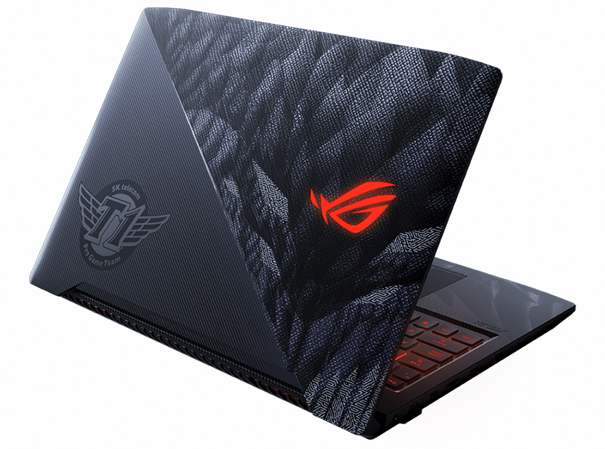 "<span class=""tagtitre"">CES 2018 - </span>PC portables gamer Asus RoG Strix SKT T1 Hero Edition et G703"