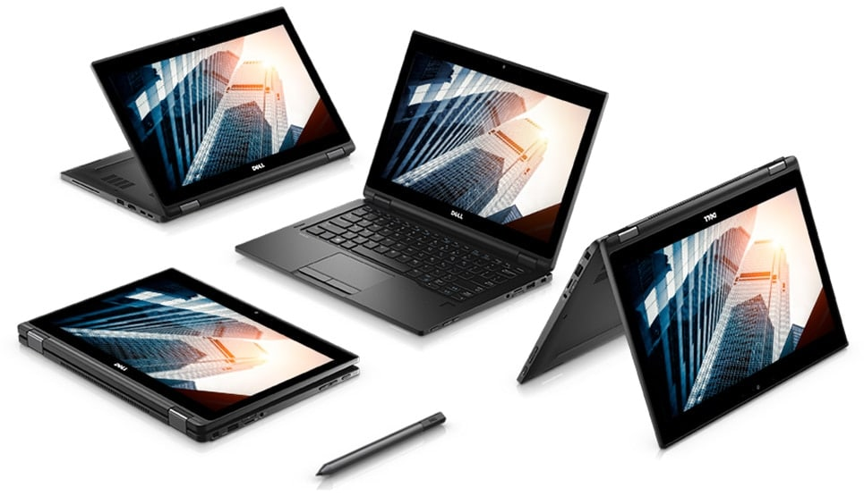"<span class=""tagtitre"">CES 2018 - </span>Dell Latitude 5000 et 7000, PC portables 2-en-1 Kaby Lake Refresh"