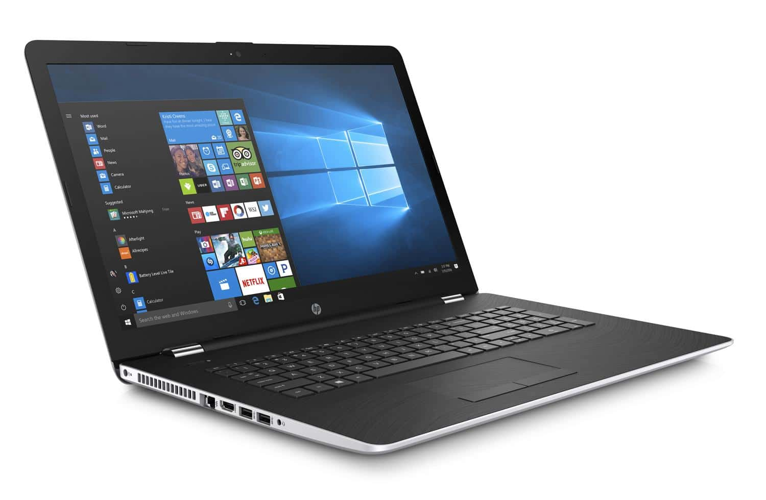 HP 17-bs009nf, PC portable 17 pouces Full IPS i7 SSD+HDD Rad 530 (799€)