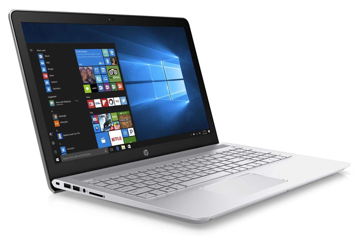 HP Pavilion 15-cc508nf, ultrabook 15 pouces Full HD i5 SSD 940MX (699€)