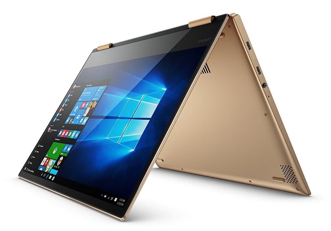 "Lenovo Yoga 720-13IKB, ultrabook 13"" Tablette Or SSD512 Stylet i7 à 1099€"