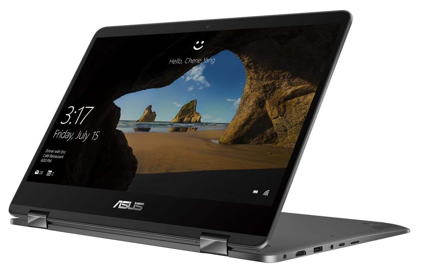 "Asus Zenbook UX461UA-E1058T, ultrabook 14"" Tablette fin i7 Refresh SSD à 1199€"