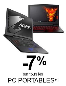 """<span class=""""tagtitre"""">Bon Plan - </span>7% de réduction sur les ordinateurs portables chez GrosBill"""